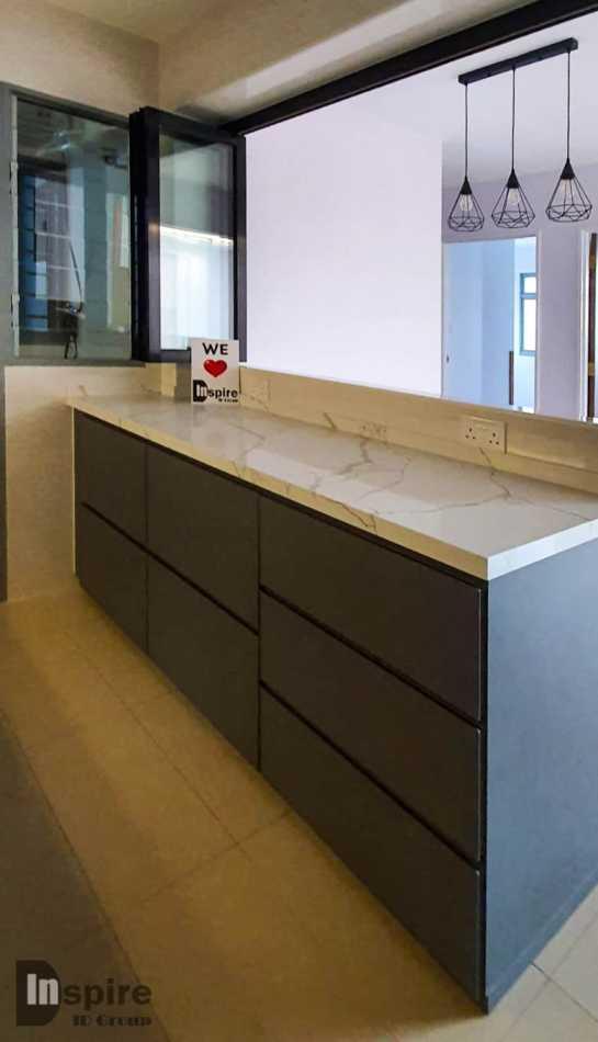 Renovation Aluminium Kitchen Cabinet